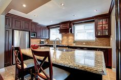 A gorgeous kitchen in a Bronte bungalow. 182 Mississaga Street, Oakville