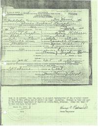 free death certificate jordan wood