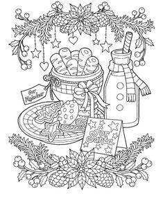 Christmas Adult Coloring Sheets - Christmas Adult Coloring Sheets , 22 Christmas Coloring Books to Set the Holiday Mood Christmas Coloring Sheets, Printable Christmas Coloring Pages, Free Printable Coloring Pages, Coloring Pages For Grown Ups, Coloring Pages To Print, Coloring Book Pages, Kids Coloring, Christmas Drawing, Christmas Colors