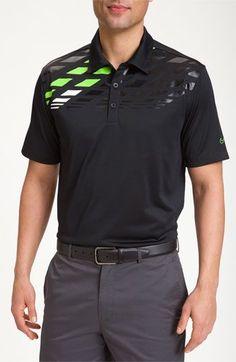 d1cfe3eb73f Nike Golf Print Polo Polo Shirt Design