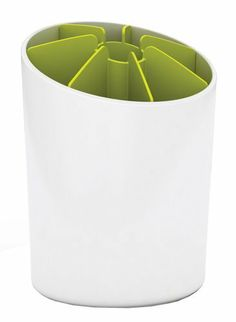 Joseph Joseph Segment, Utensil Pot with Dividers, White and Green by Joseph Joseph, http://www.amazon.com/dp/B005EKKR2M/ref=cm_sw_r_pi_dp_fW0xrb1JV8N4R