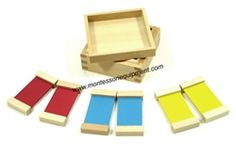 First Box of Color Tablets Lowest Price of Montessori materials and Educational toys at IFIT Montessori. Save more on Montessori products with monthly promotions. Color Montessori, Montessori Materials, Montessori Toys, Infant Activities, Preschool Activities, Addition Chart, Emotions Preschool, Montessori Practical Life, Color Box
