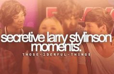 I LOVE LARRY STYLINSON<3 But people who r now making fun of them because of this, that is not cool<3 They arent gay, they arent dating they are just really close freinds!!! Mayde even brothers<3 #larrysnotreal