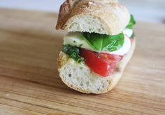 {RECIPE} Caprese Sandwich with Basil Chimichurri Sauce | Catch My Party