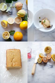 Terisa's citrus and the consequential lemon & olive oil cake and lemon curd - recipes ~ Cannelle et Vanille