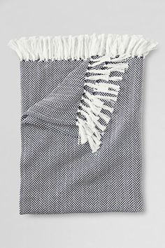 Herringbone Cotton Throw $34