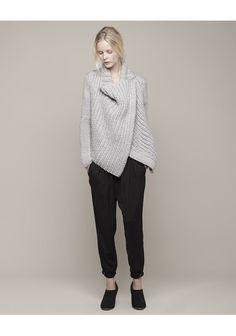 HELMUT LANG | Shawl Cardigan | Shop @ La Garçonne