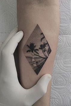 Tropical Landscape Scene by Fillipe Pacheco