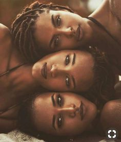 Kinda looks like the same face but it's a beautiful face, nonetheless. Black Girls Rock, Black Girl Magic, Pretty Black Girls, Black Man, My Black Is Beautiful, Beautiful People, Beautiful Eyes, Beautiful Pictures, Beautiful Women