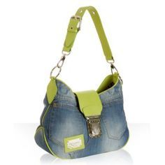 I am going to make this purse.... now this is a cute jean purse!