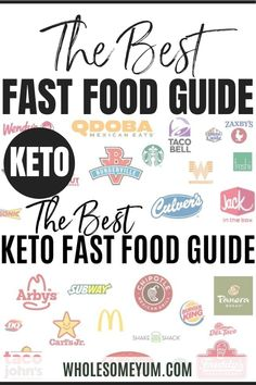 The Best Keto Fast Food Recipes - A collection of keto fast food copycats you can make at home. Plus, the most complete, best keto fast food guide ever! Includes all the best keto low carb fast food options at 30 restaurants, tips for ordering keto friendly fast food, what to get and what to avoid. #wholesomeyum #keto #ketorecipes #lowcarb #lowcarbrecipes #ketocomfortfood #lowcarbcomfortfood #burgers #frenchfries