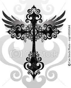 just the cross design