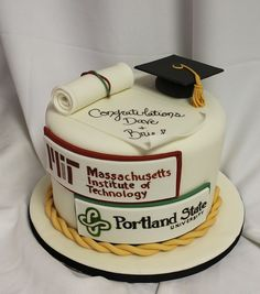 Graduation Idea High School Musical Cake | Graduation Cakes | Blog.OakleafCakes.com Boston
