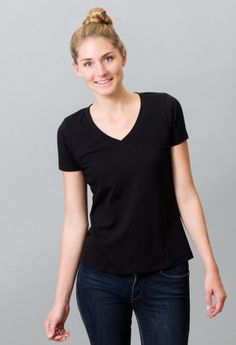 #Organic cotton v-necks and crew neck tees only $15 at BeGood