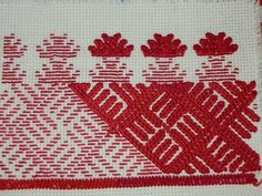 Pozaihlenne and Nastyl [Pearl stitch] Embroidery of Pokuttia and West Podillia, Ukraine Hungarian Embroidery, Folk Embroidery, Embroidery Patterns Free, Learn Embroidery, Modern Embroidery, Embroidery Stitches, Embroidery Designs, Small Cross Stitch, Creative Embroidery