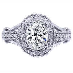 oval diamond legacy engagement ring