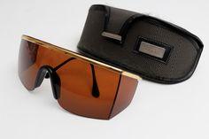 Vintage Versace Sunglasses Mask 790 Color 030, original case