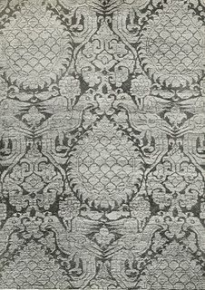 Sicilian silk design 12th century