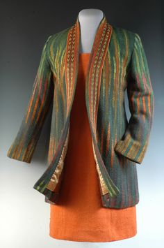 This is what I'm talking about -- handwoven and stitched with flair. ForestFireFrontLG.jpg (465×700)
