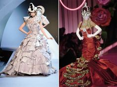 Christian Dior Haute Couture Style 2013 Love the one on the left!