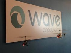 Helicopter fights at Wave Accounting!