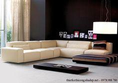 Bàn ghế sofa phòng khách đẹp SPK9