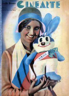 LUCILE BROWNE - (CINEARTE, November 11, 1931, Rio de Janeiro, Brazil)
