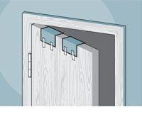 How To Repair Stripped Door Hinge Holes