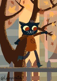 "lainpirata: ""I drew Mae Borowski from Night in the Woods! """