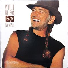 """Wllie Nelson """"Me  Paul"""" (1985) - This album focuses on Nelson's longstanding relationship with band-members, especially drummer Paul English. That relationship was an emotional touchstone for the entire set of songs. Nelson wrote the title song for English, and in a classic bit of songwriting, details some hilarious exploits on the road and is one of the few songs in existence about a drummer. The band is superb and the record is a masterpiece. Find Willie Nelson records at…"""