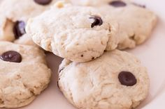Chewy chocolate chip cookies with protein powder