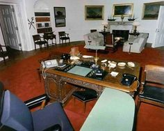 History of the Oval Office - (Kennedy Office)