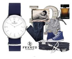 """""""Francoflorenzi 11"""" by lejla150 ❤ liked on Polyvore featuring Abercrombie & Fitch, Converse, Givenchy, Dolce&Gabbana, men's fashion and menswear"""