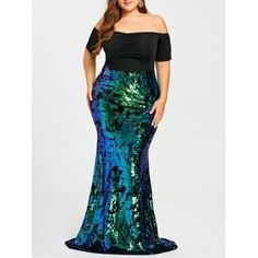 SHARE & Get it FREE | Plus Size Sequined Mermaid Prom DressFor Fashion Lovers only:80,000  Items·FREE SHIPPING Join Dresslily: Get YOUR $50 NOW!