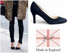 Brompton Suede Heels are a wardrobe essential!