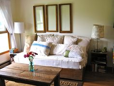 39 Best Diy Daybed Sofa Images On Pinterest Home Decor Bed Room