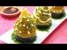 How to make Christmas tree Sushi