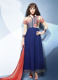 http://www.sareesaga.in/index.php?route=product/product&product_id=19786 Work:Embroidered Resham WorkStyle:Anarkali Suit Shipping Time:10 to 12 DaysOccasion:Party Festival Fabric:GeorgetteColour:Blue For Inquiry Or Any Query Related To Product, Contact :- +91-9825192886, +91-7405449283