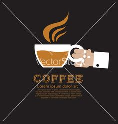 Coffee cup eps10 vector - by siri-korn on VectorStock®