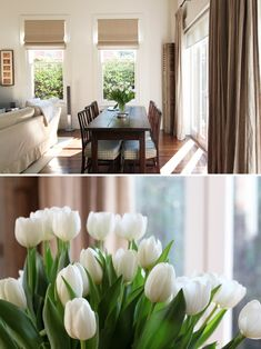 Love both of the window treatments in this room. Linen drapes and sheer blinds on the big window and linen roman blinds on the skinnier windows Roman Blinds, Curtains With Blinds, Sheer Blinds, Dream Bedroom, Girls Bedroom, Melbourne House, Pretty Room, Window Treatments, Window Coverings