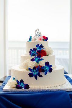 Ashley & Andrew  #wedding #CelebrationsattheBay #weddingcake