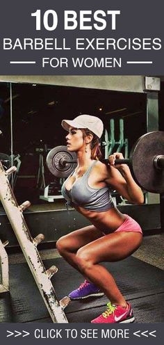 Use this one simple trick to build muscle quick Are you looking to build strength and stamina? Then its time to take to barbell exercises for women! Here is a list of the 10 best!
