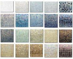 bath/Glass Tile Bathroom Pictures on Tips And Information Glass Mosaic Tiles Bring Glamour To Your Home Glass Tile Bathroom, Glass Tile Backsplash, Glass Mosaic Tiles, Oceanside Glasstile, Tadelakt, My Pool, Room Tiles, Wall Tiles, Bathroom Pictures