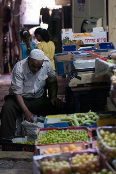 Jerusalem Market, ISRAEL