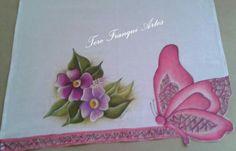 Pintura em tecido - face