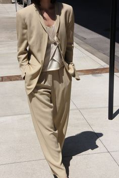 1f8e713c10 Office Fashion, Smoking, Edgy Outfits, Colourful Outfits, Neutral Outfit,  Neutral Dress