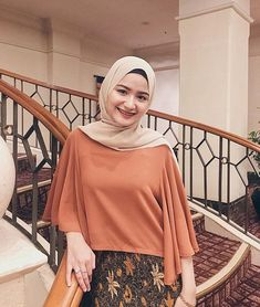 Image may contain: 1 person, standing and shoes Hijab Fashion Summer, Modern Hijab Fashion, Street Hijab Fashion, Batik Fashion, Hijab Fashion Inspiration, Muslim Fashion, Skirt Fashion, Hijab Dress Party, Hijab Style Dress