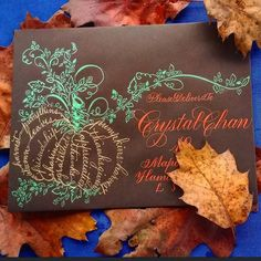 Phyllis Macaluso from Flourish Calligraphy, Calligraphy Cards, Calligraphy Envelope, Envelope Art, Caligraphy, Letter Writing, Letter Art, Fancy Letters, Wedding Letters