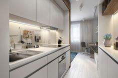 Оригинальная планировка - студия 30 м² - Дизайн интерьеров | Идеи вашего дома | Lodgers