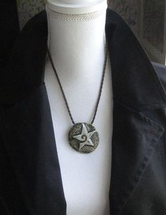 Lucky Star Real Porcelain pandant / by EuropeanStyleJewelry
